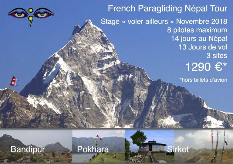 Horizon Parapente séjour au Népal
