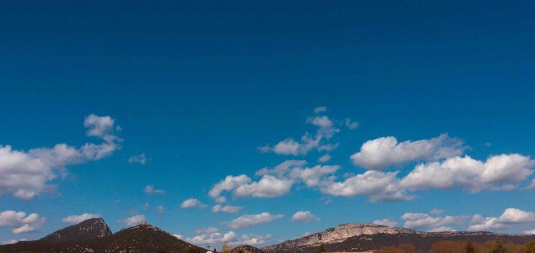 Horizon Parapente ciel du Pic St Loup