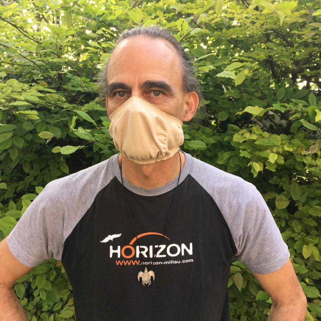 Horizon Parapente masque COVID