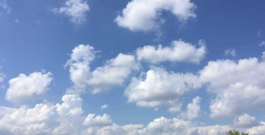 Horizon Parapente ciel sur l'Hortus